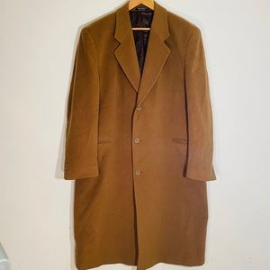 Men's coat. Wool and cashmere